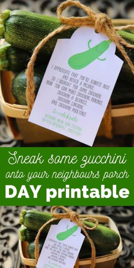 sneak zucchini day printable PIN