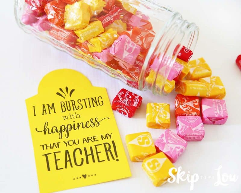 starburst teacher gift