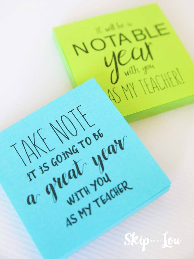 take note it is going to be a great year saying gift
