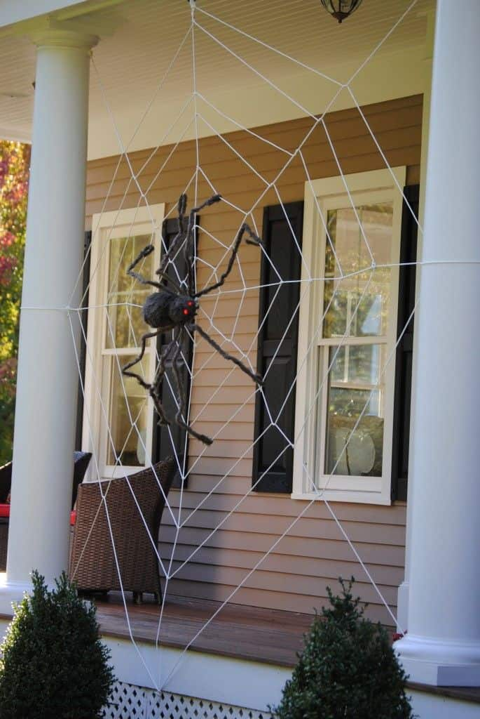 homemade-spider-web
