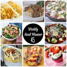 weekly meal plan 45