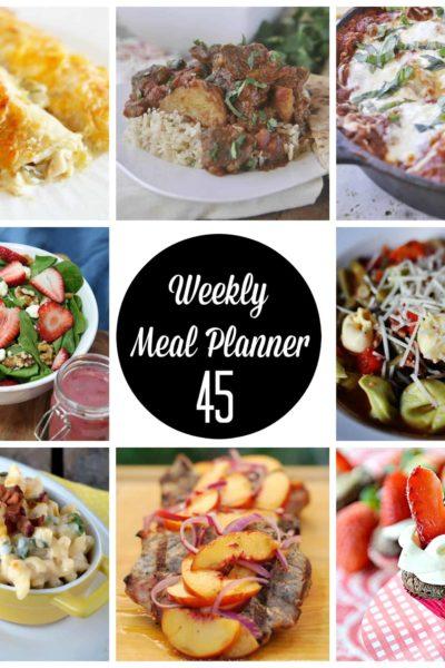 weekly meal plan 45