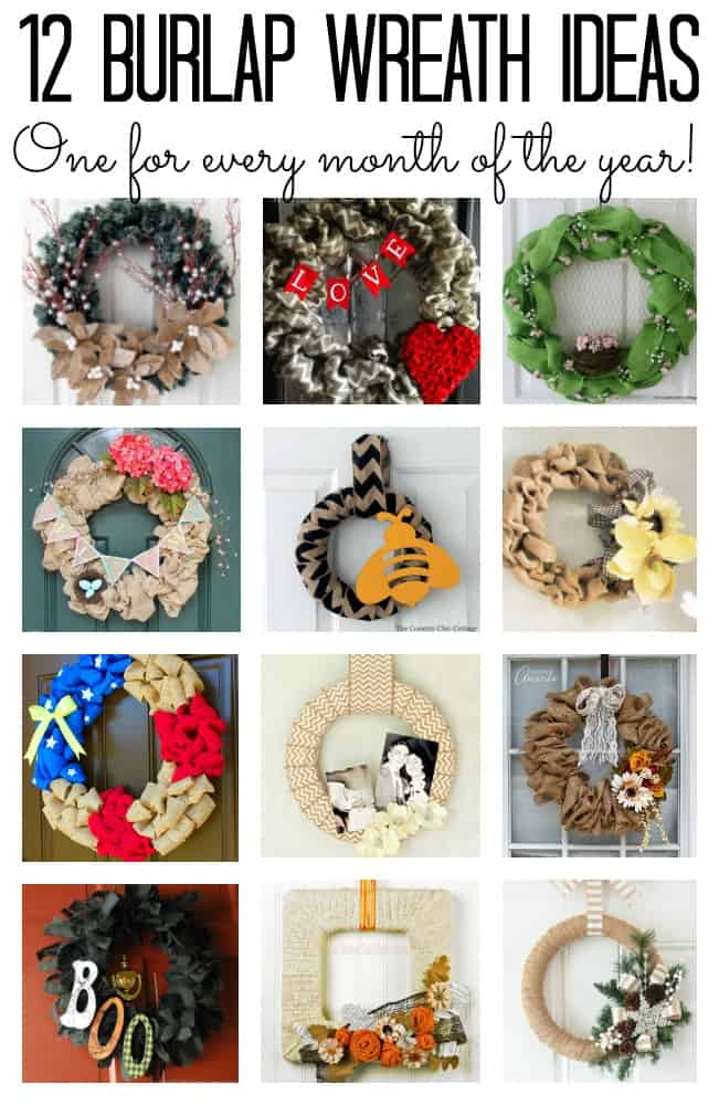 burlap-wreaths-collage