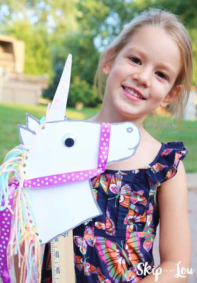 unicorn stick horse