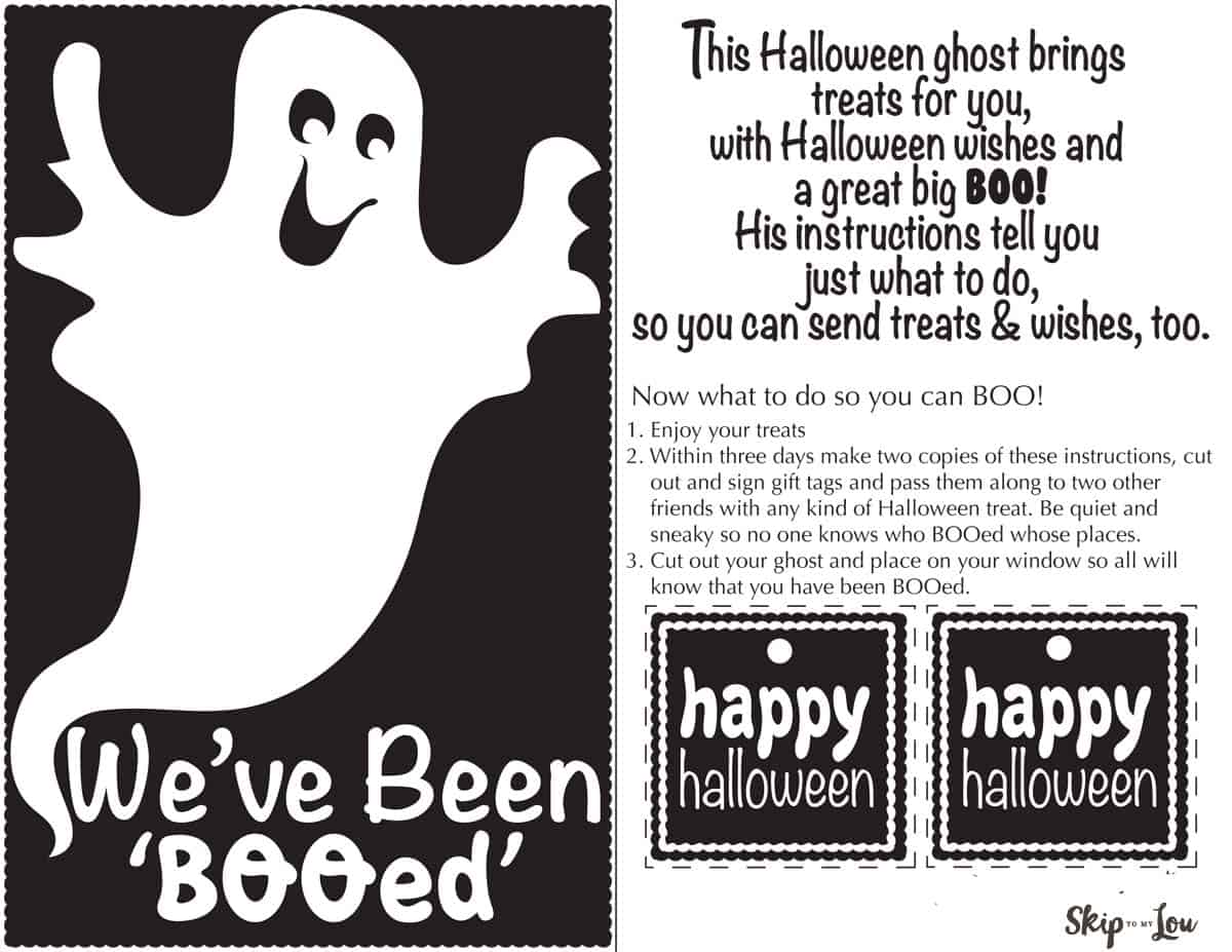 free booing printables