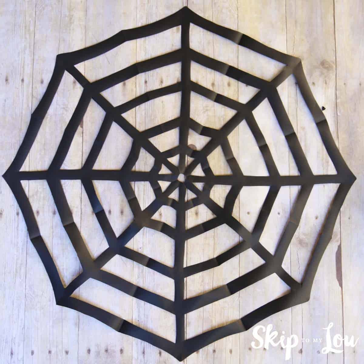 how-to-make-a-paper-spider-web