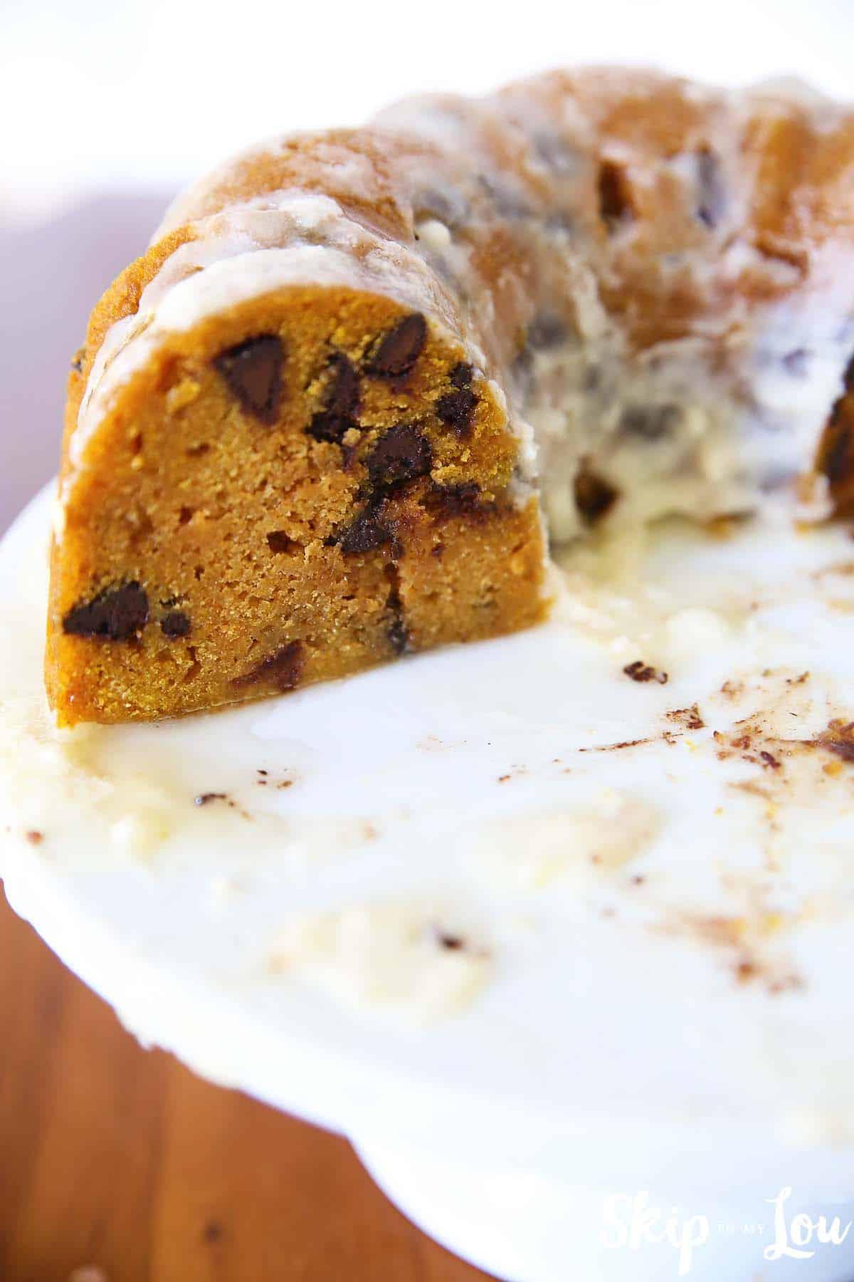 pressure-cooker-pumpkin-chocolate-chip-bundt-cake