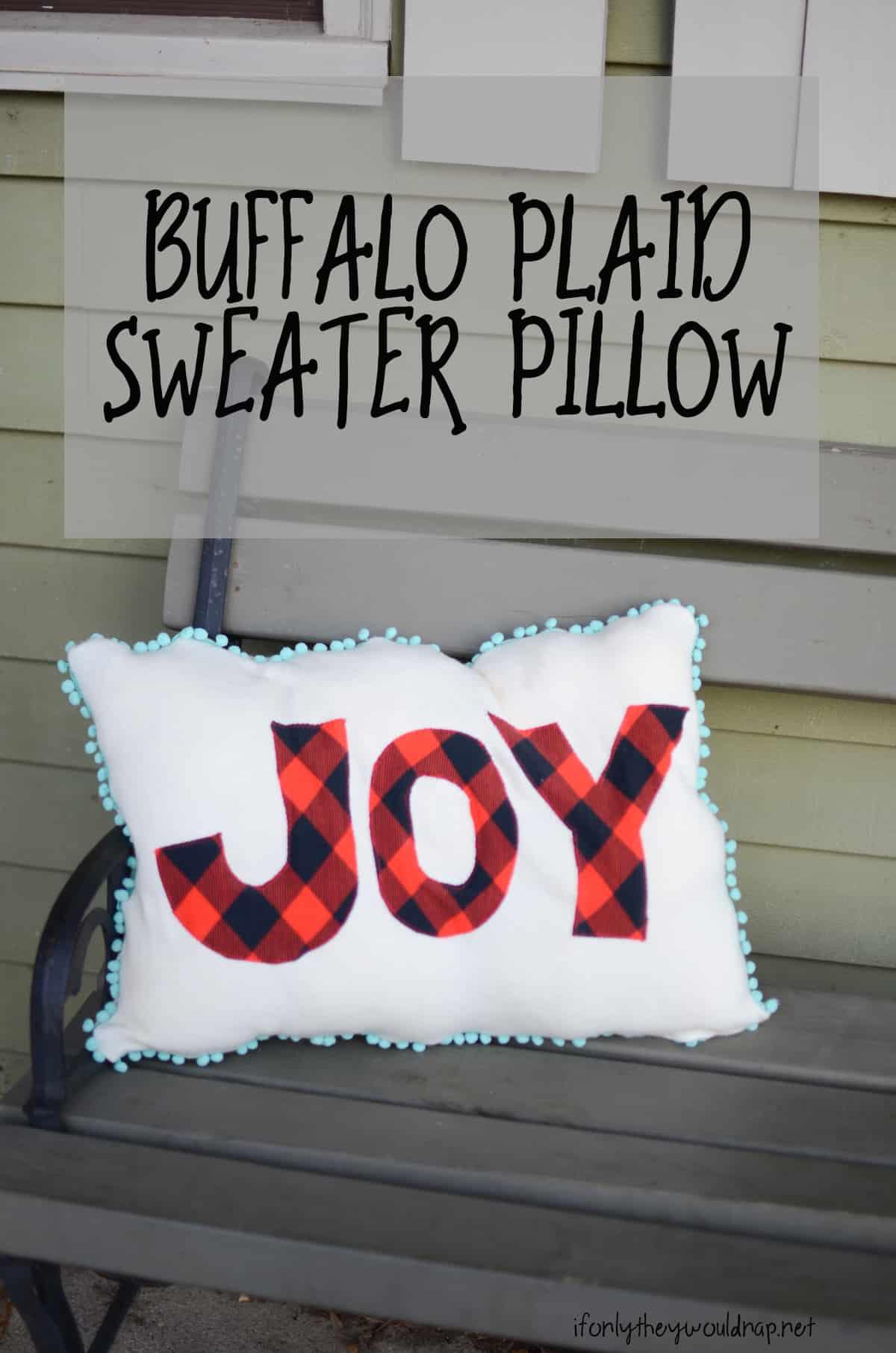 diy-buffalo-plaid-sweater-pillow