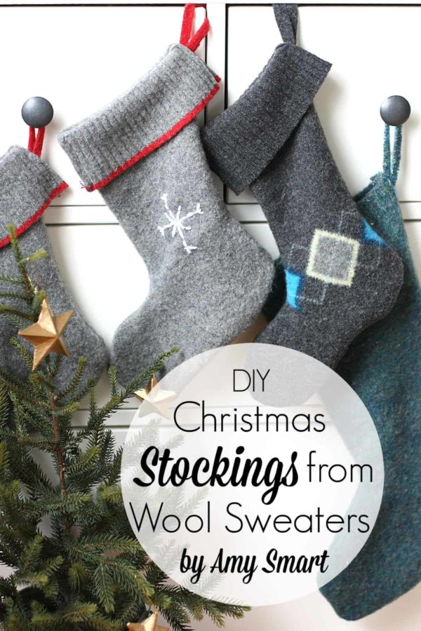 wool stockings from sweaters