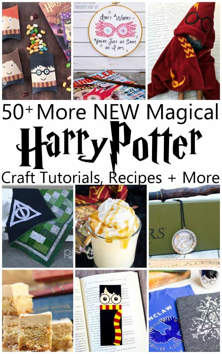 Best collection of Harry Potter Crafts and Recipes