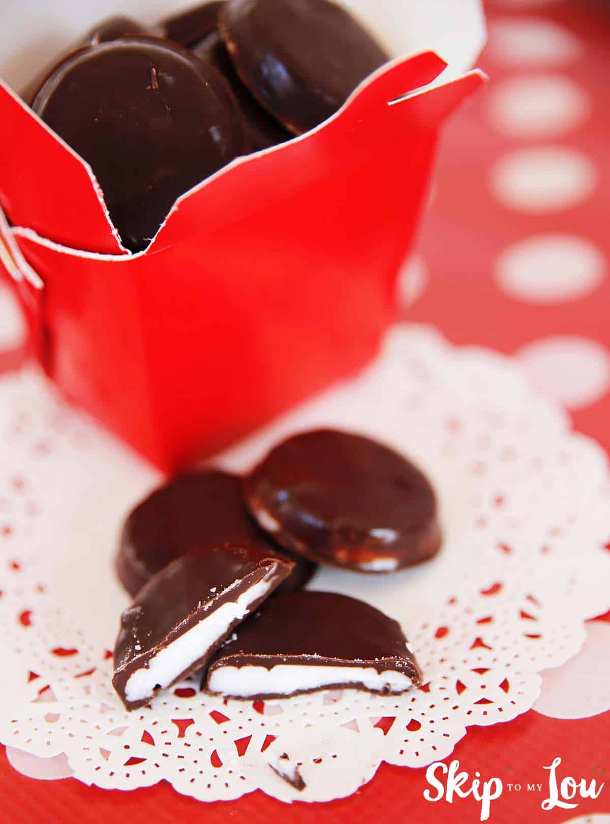 Homemade Peppermint Patties   Skip To My Lou