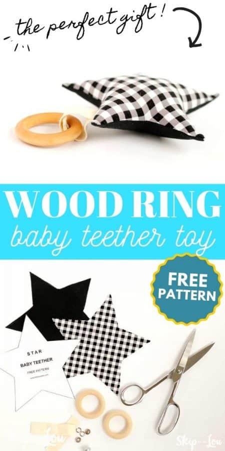 baby teether toy PIN
