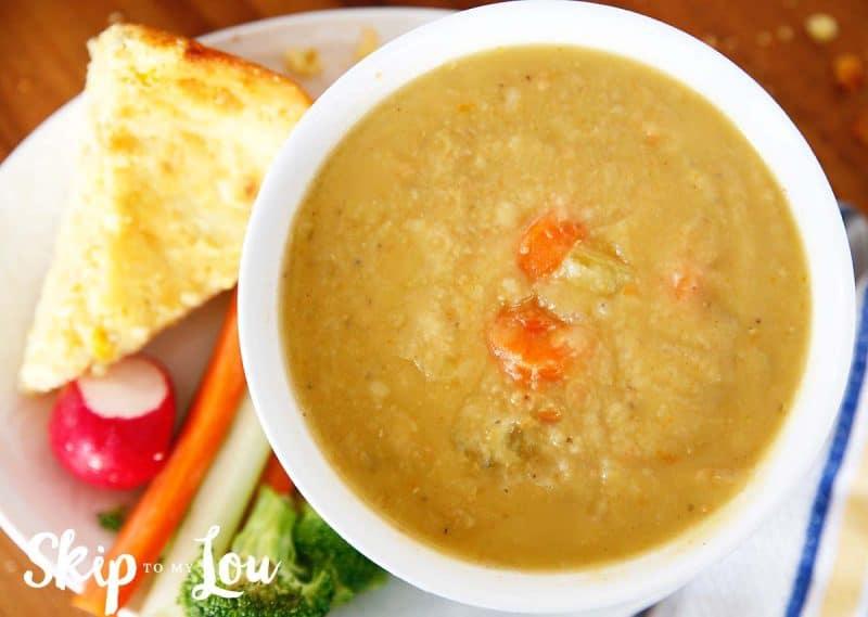 Pressure Cooker Red Lentil Soup