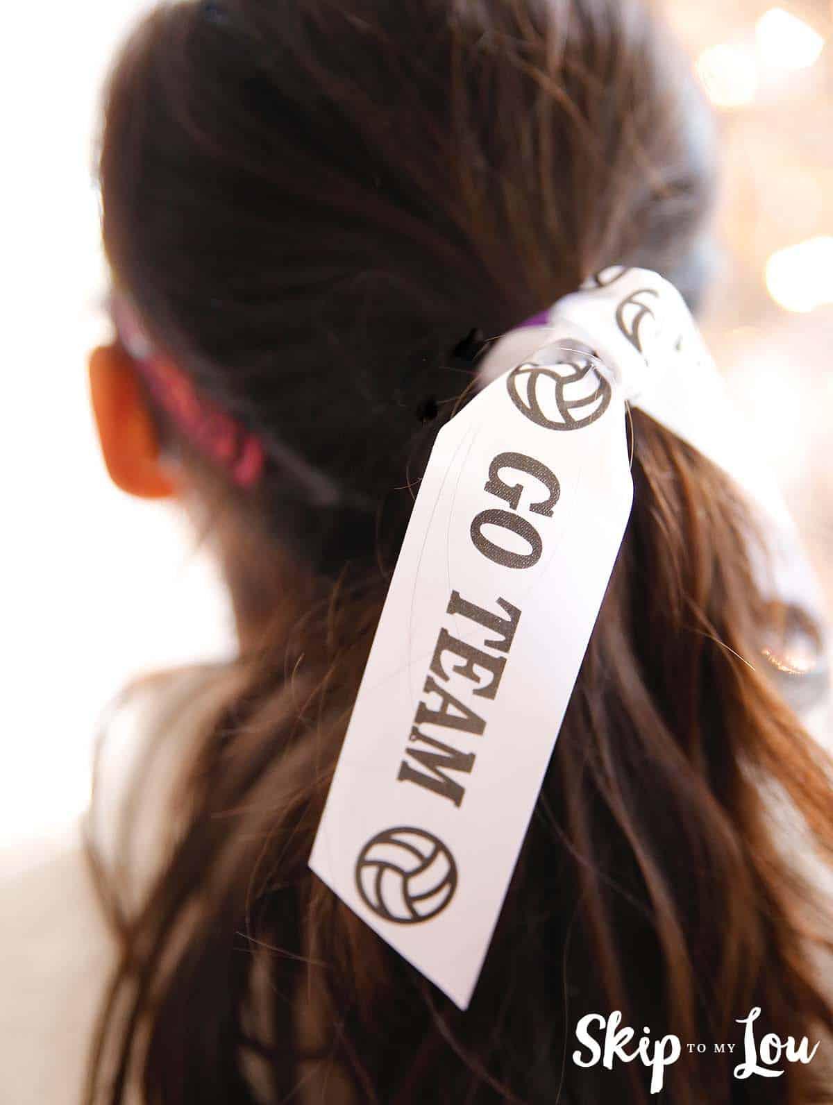 Go team sport ribbon