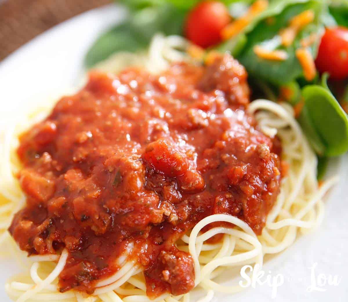 allergy free pressure cooker spaghetti sauce