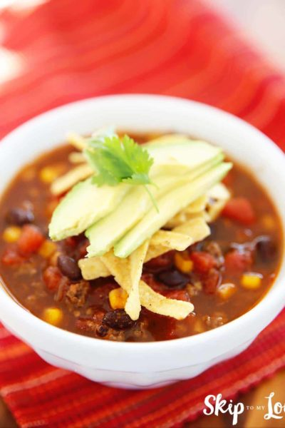 allergy friendly pressure cooker taco soup