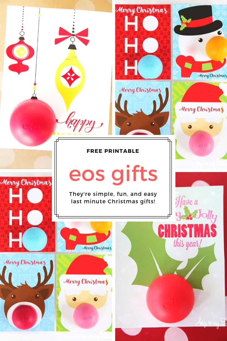 eos christmas gifts Pinterest Graphic