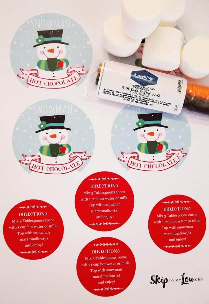 snowman-hot-chocolate-ingredients