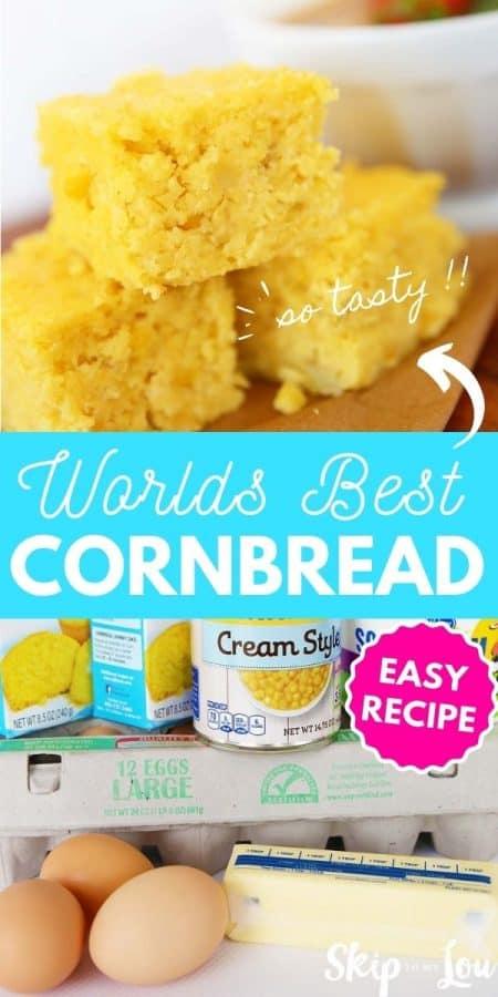 best cornbread recipe PIN