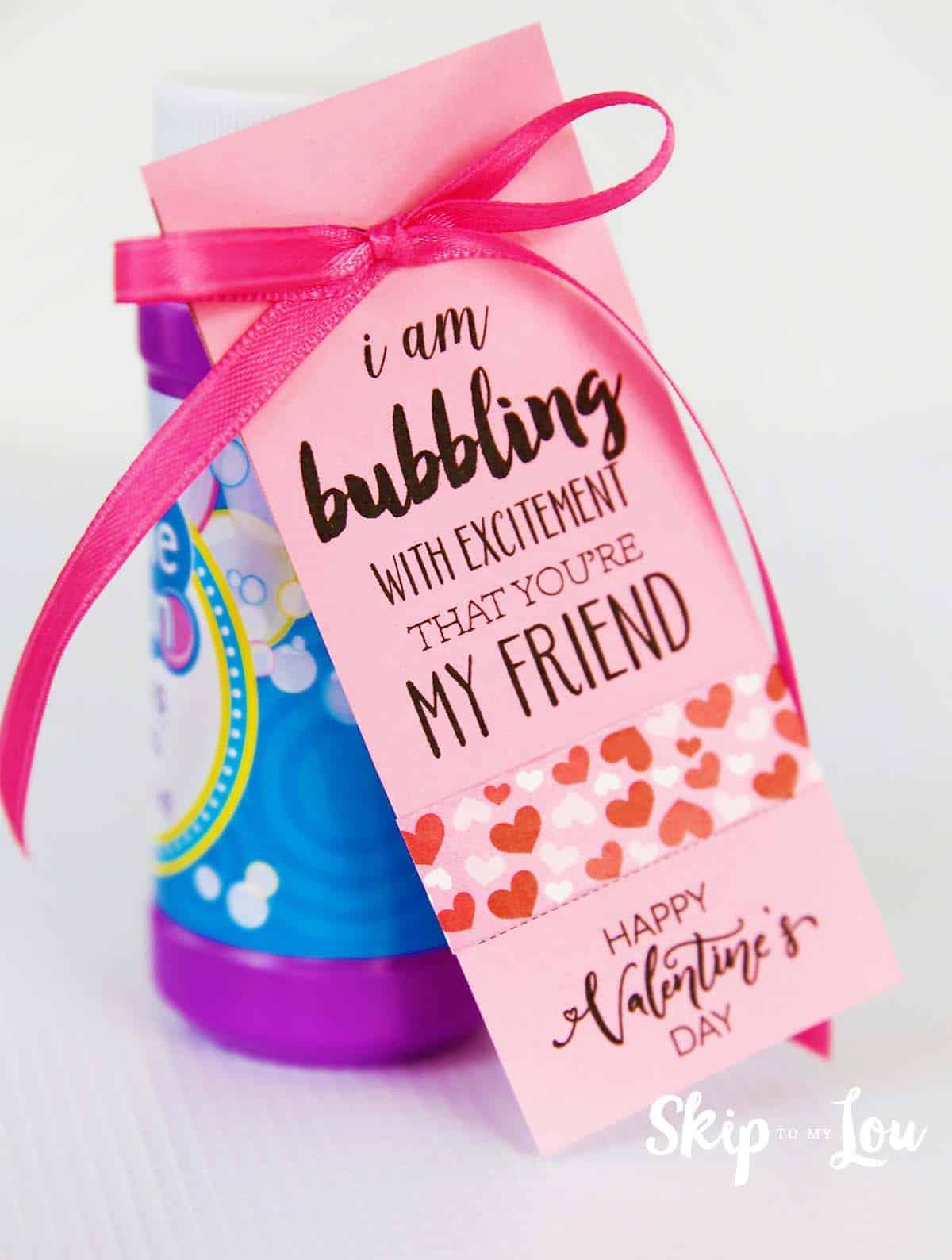 bubbles valentine