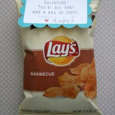 potato chips with all that and a bag of chips tag