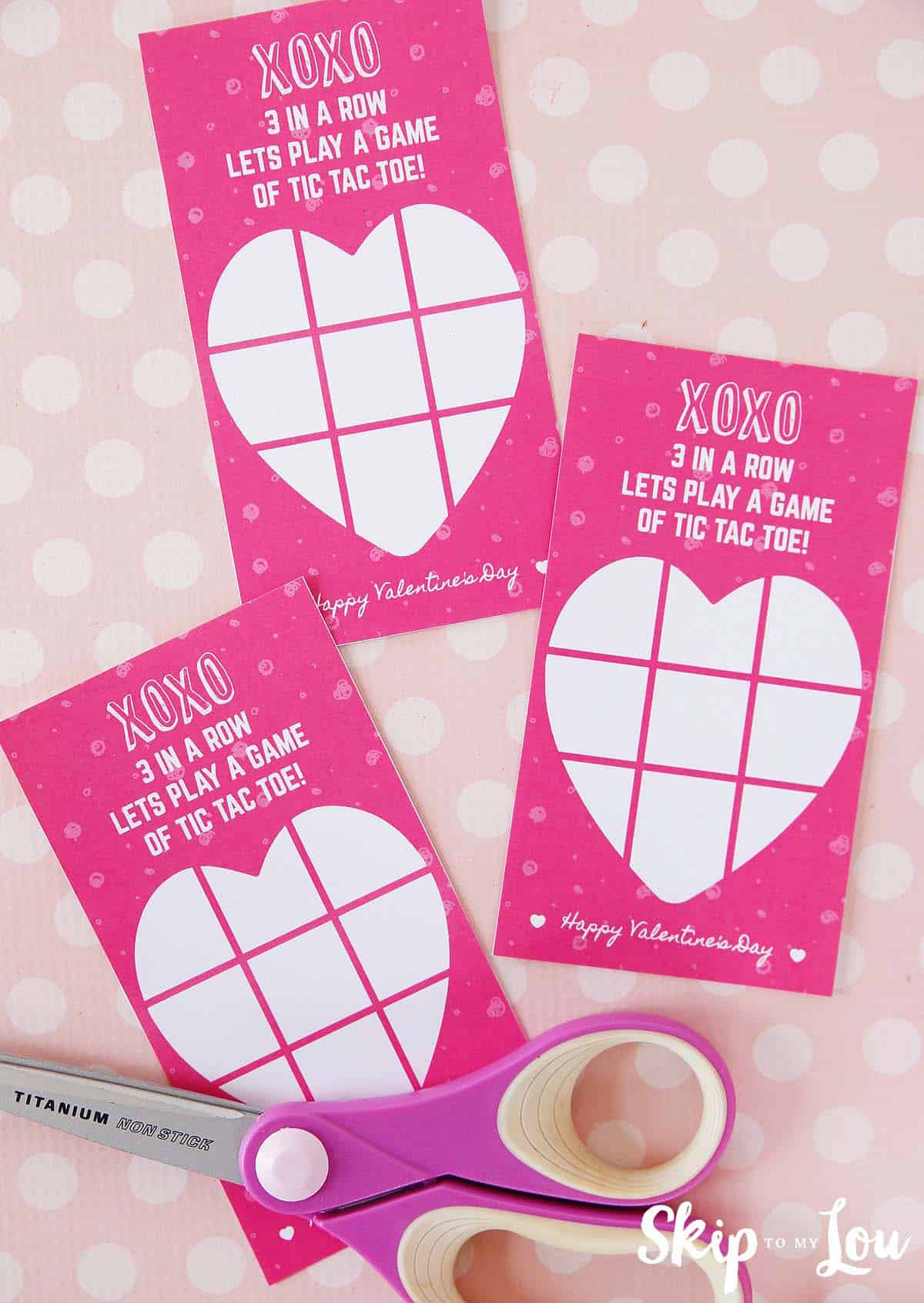 picture relating to Tic Tac Toe Valentine Printable titled Printable Tic Tac Toe Valentine Pass up In direction of My Lou