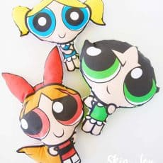 DIY Powerpuff Girls Dolls