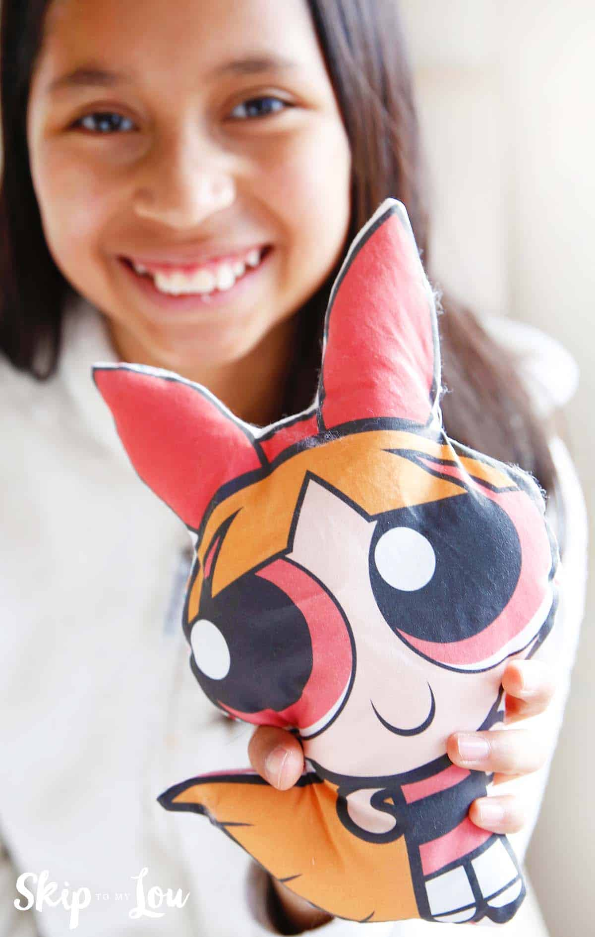 How to make a doll with a sewing machine and inkjet printer