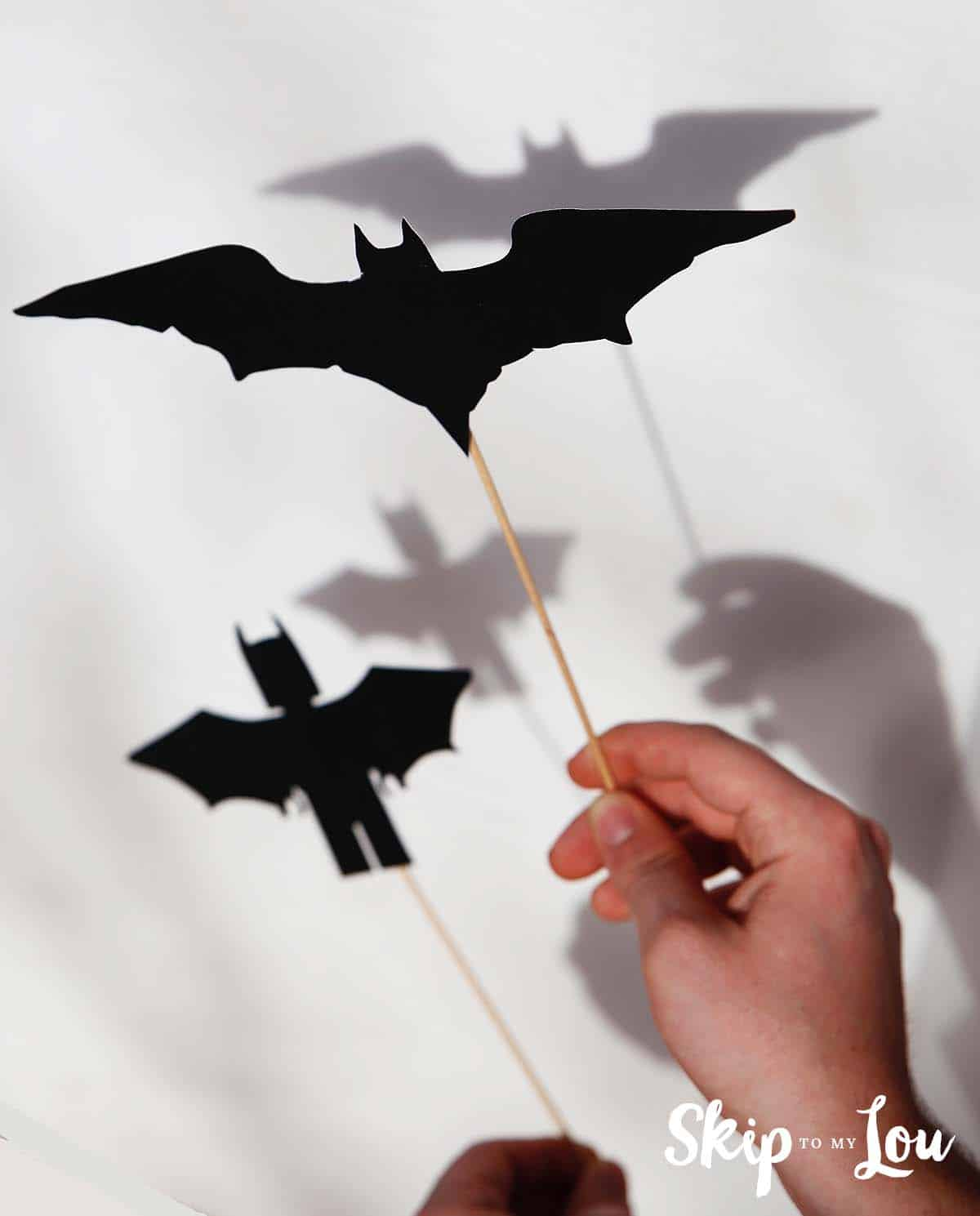 lego batman shadow puppets
