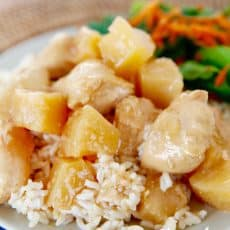 pressure cooker hawaiian chicken