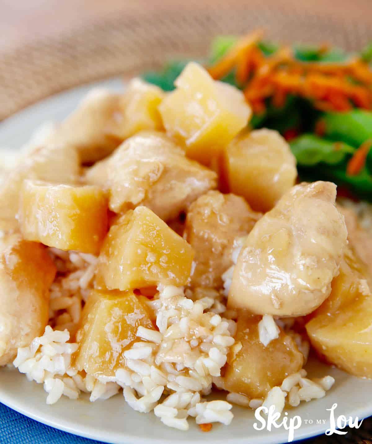 instant pot pressure cooker hawaiian chicken