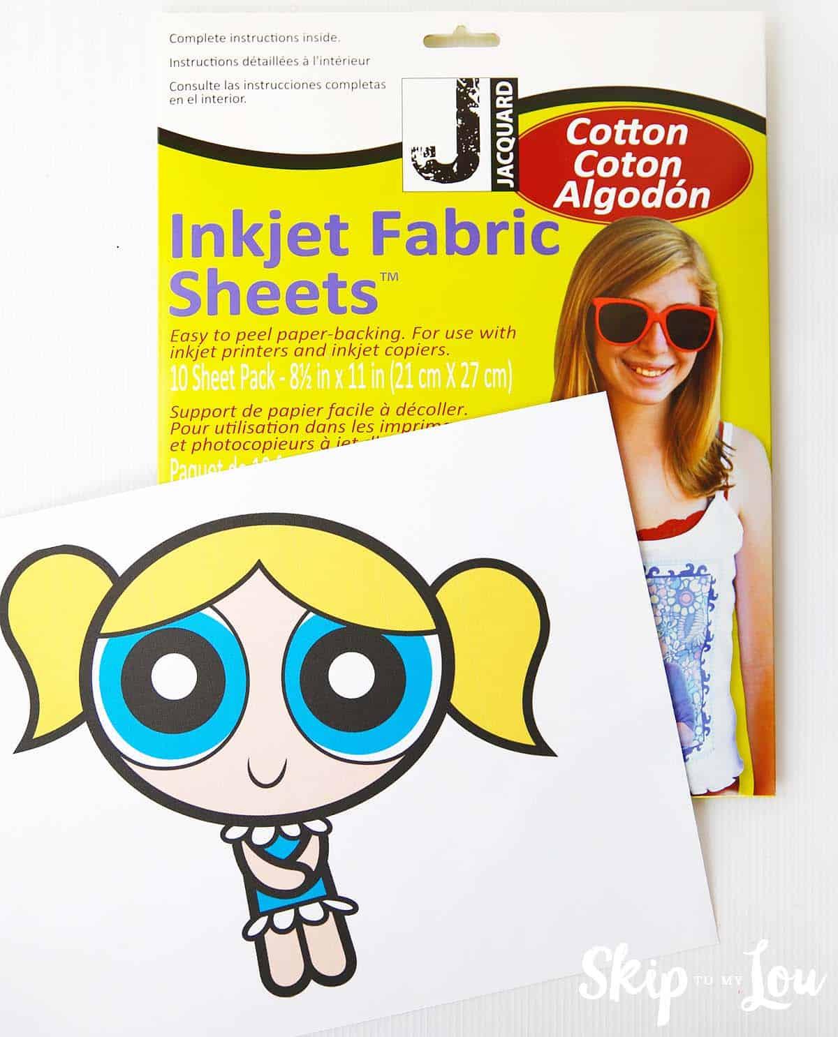 printable inkjet fabric sheets