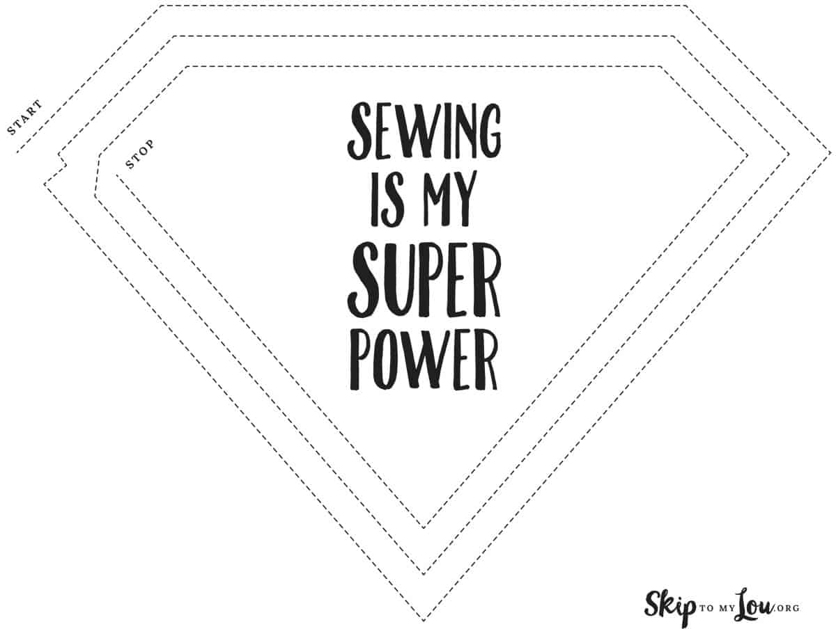 super power sewing sheet