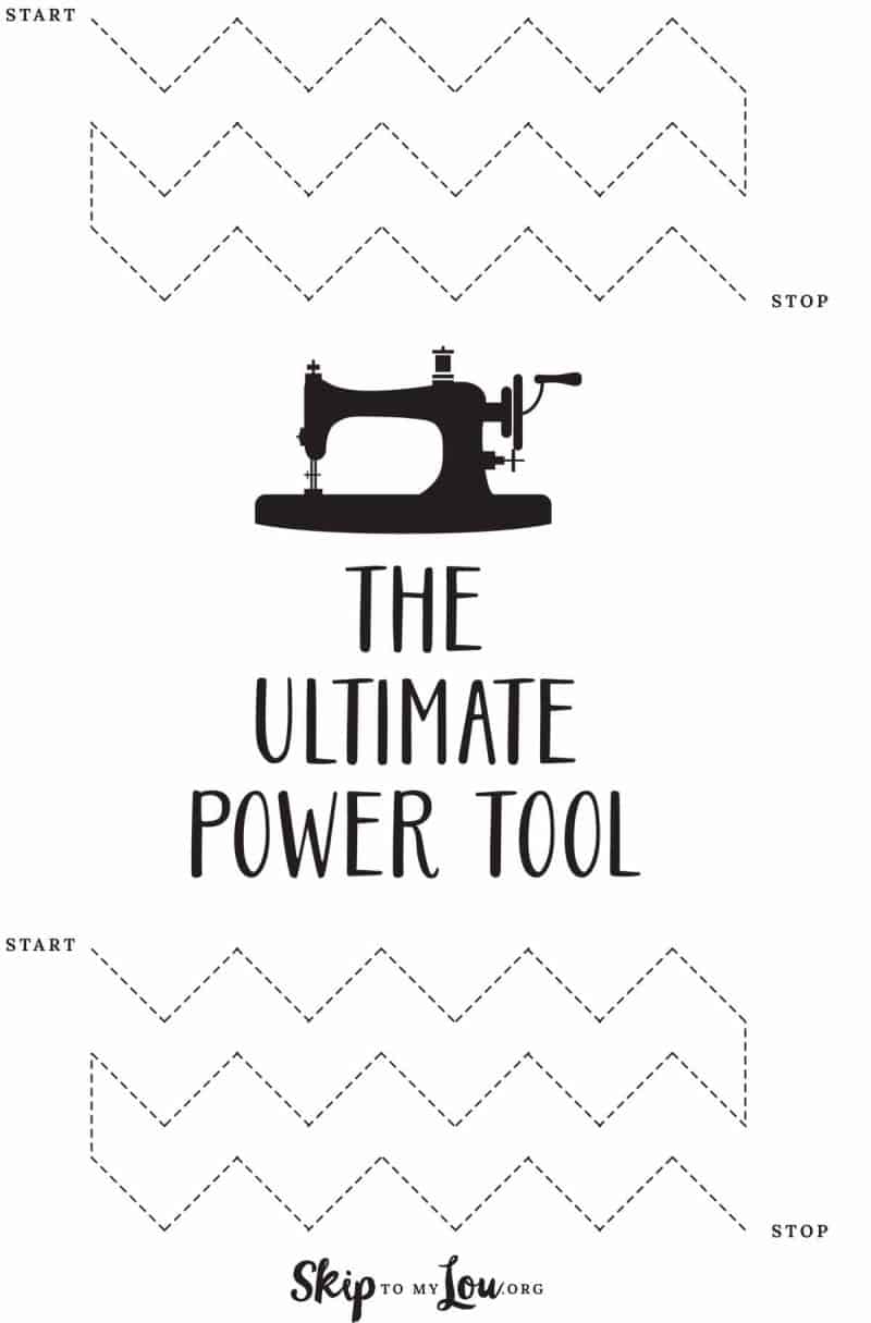 ultimate power tool sewing sheet
