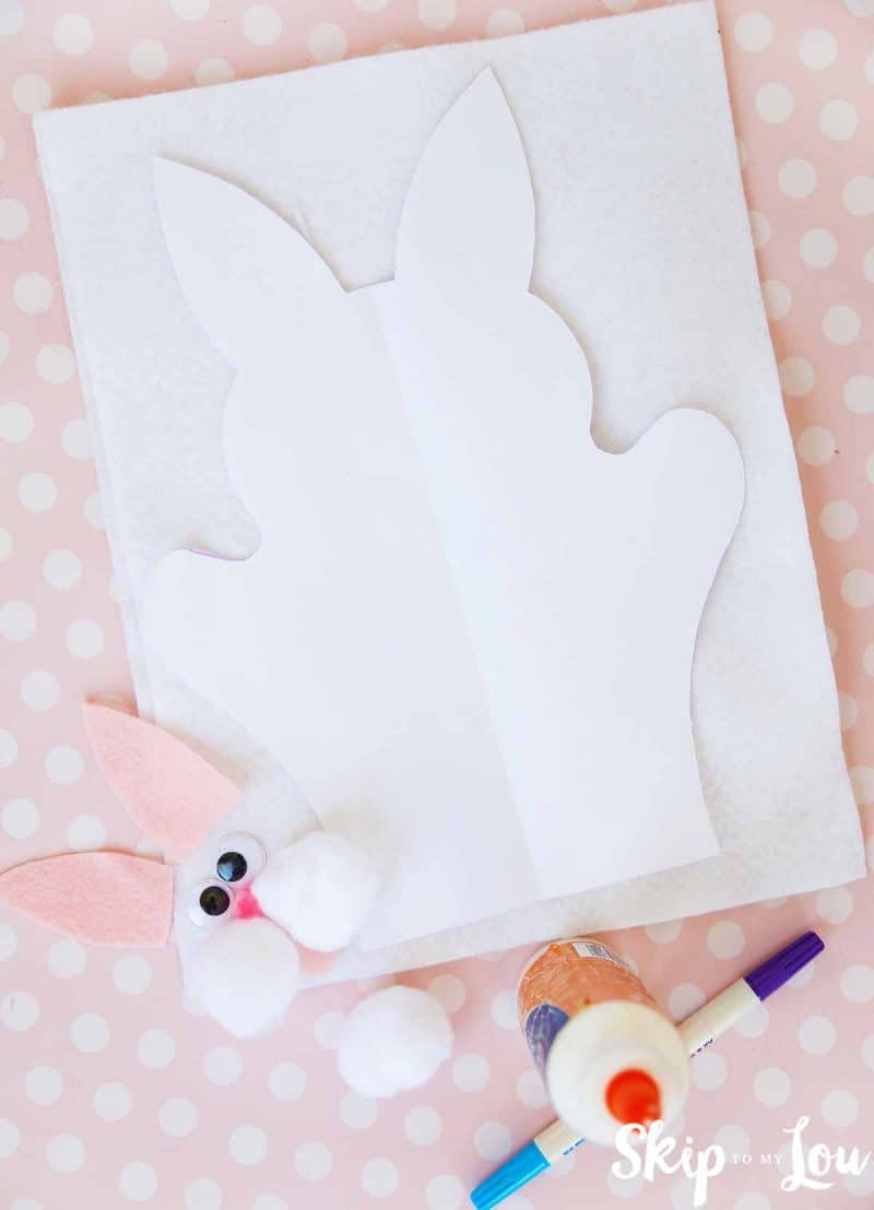 bunny puppet supplies