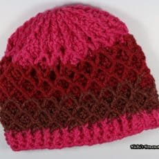 Lattice Crochet Hat Pattern