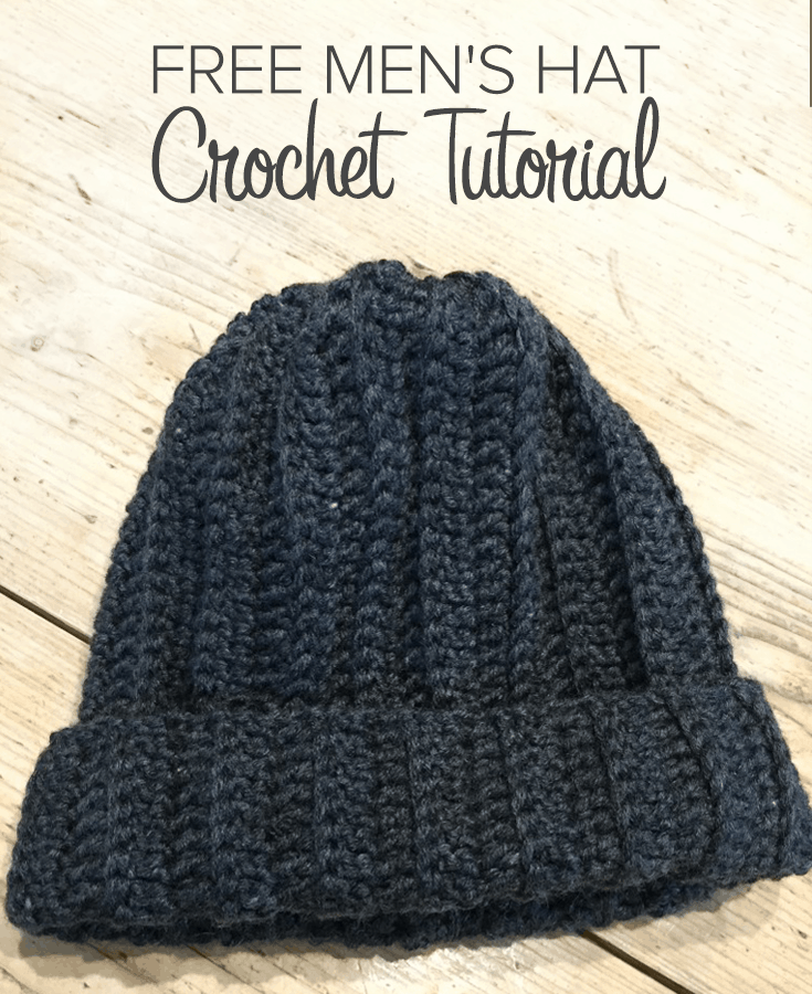 crochet hat pattern for men