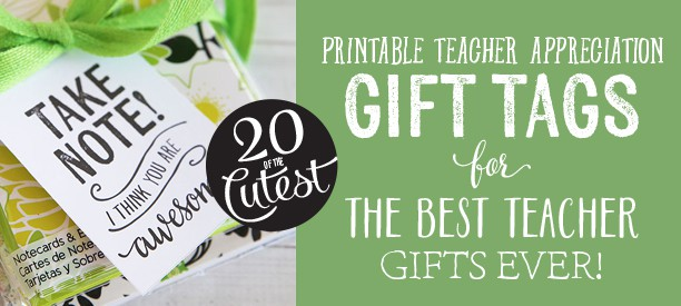 20 cute teacher tags