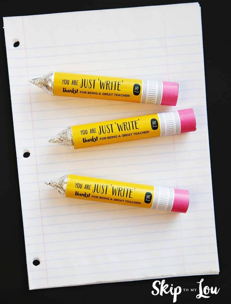 DIY Rolo pencils Printable