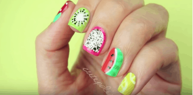 Cute Summer Nail Designs