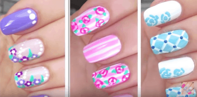 cute floral nail design - Have Cute Summer Nail Designs For Summer With These Tutorials!