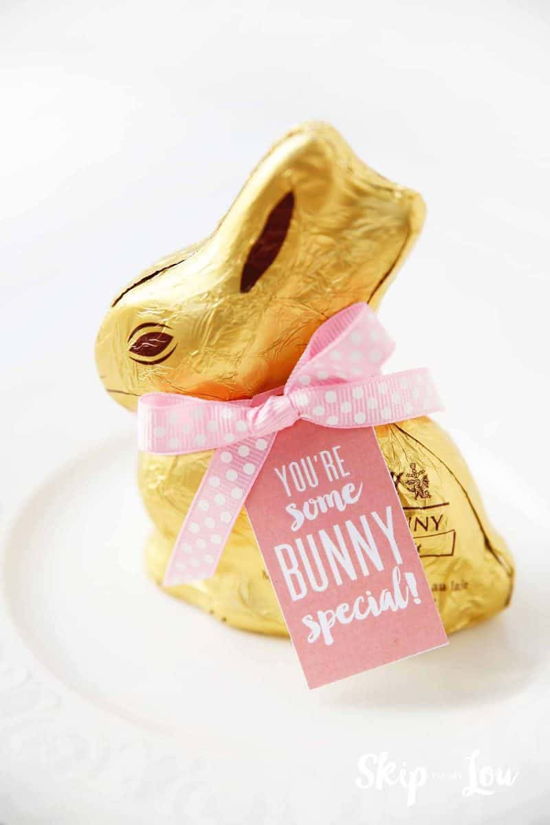 easter printable favor tags some bunny special