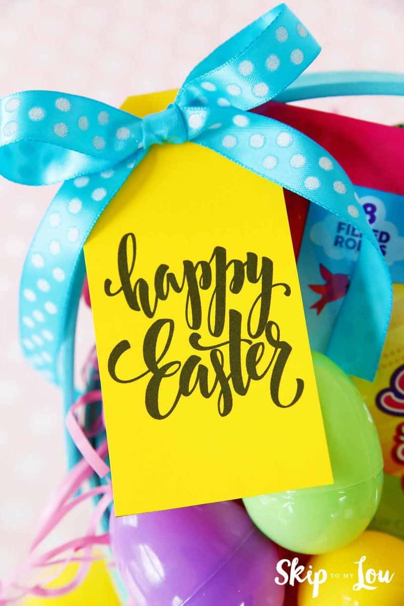 Cutest free easter printable gift tags for all your treats free easter gift tags negle Choice Image