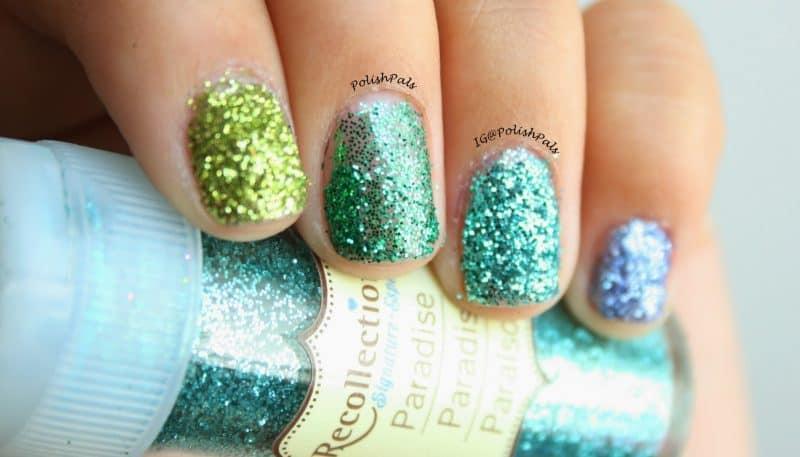 glitter nail tutorial