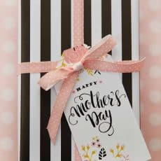 happy mothers day printable gift tags