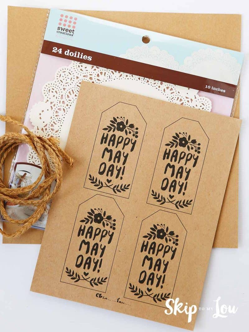 printable may day basket gift tags