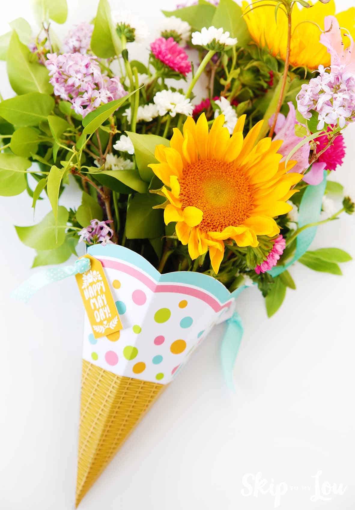 Free Printable May Day Basket | Skip To My Lou