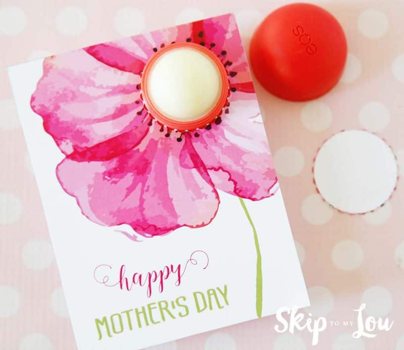 Mothers day eos lip balm gift