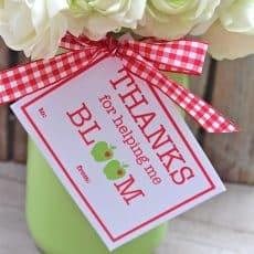 bloom teacher gift