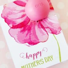 eos Lip Balm Mothers Day Gift printable